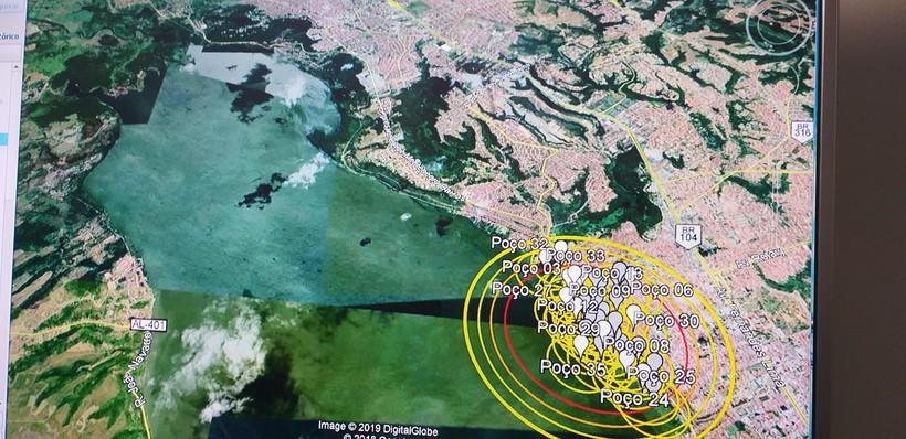 Orla lagunar de Coqueiro está a 3,5km fora do raio de situação extrema
